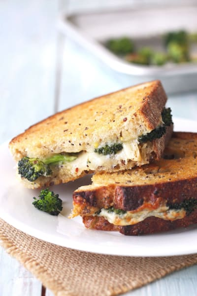 Toaster Oven Grilled Cheese Sandwich Picture