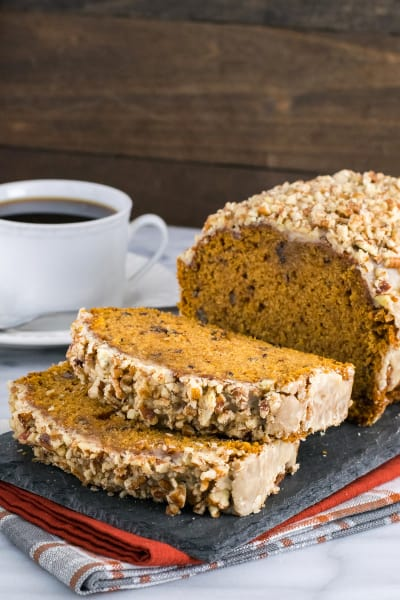 Pumpkin Pecan Bread Image