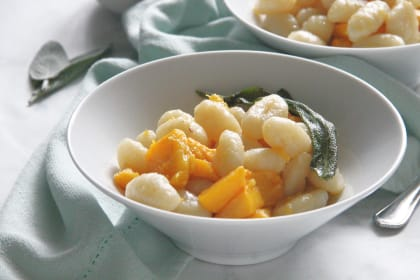 Pumpkin Gnocchi with Sage Butter Sauce Recipe