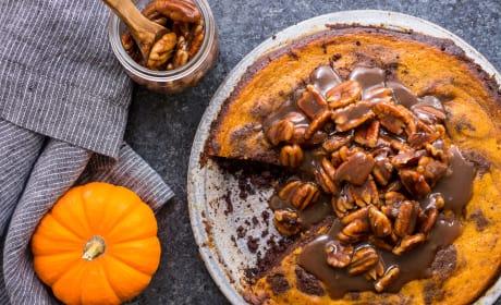 Bourbon Brownie Pumpkin Pie Recipe