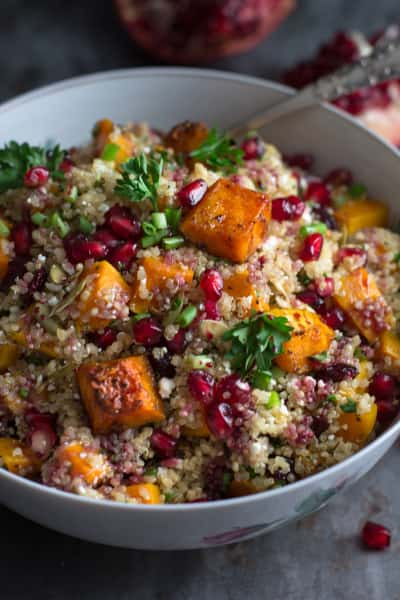 Roasted Butternut Squash Quinoa Salad Image