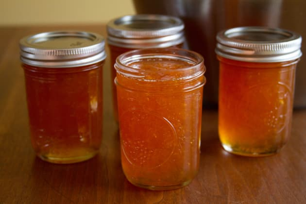 Canned Grapefruit Jam Photo