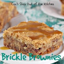 Brickle Brownies