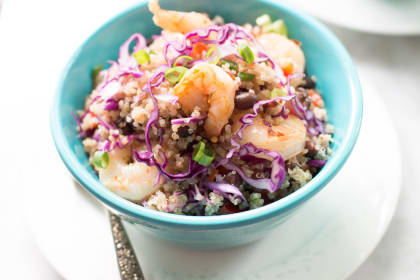 Shrimp Quinoa Salad