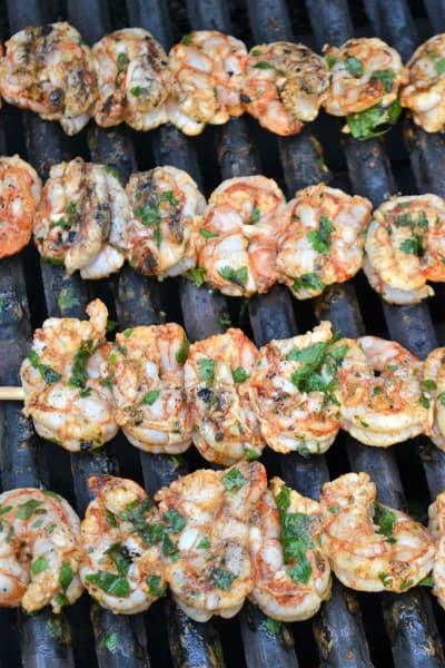 Cilantro Lime Grilled Shrimp Picture
