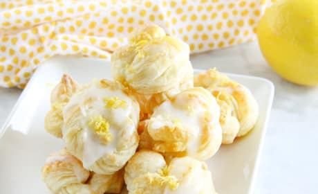 Puff Pastry Lemon Knots Recipe