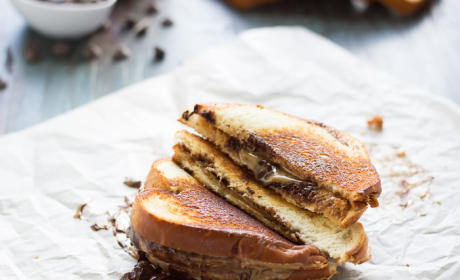 Grilled Buckeye Sandwich