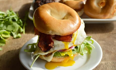 Breakfast Burger Recipe