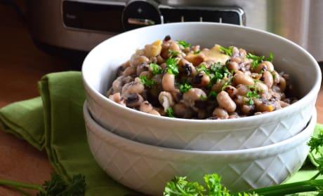 Slow Cooker Black Eyed Peas Recipe