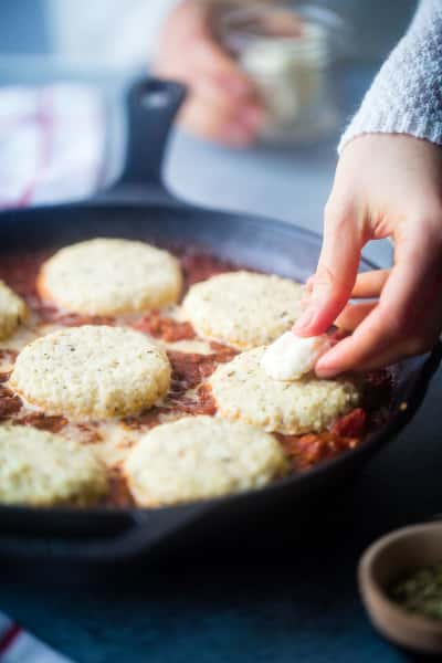 Cauliflower Caprese Skillet Picture