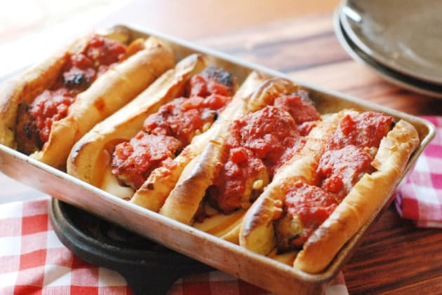 Homemade Meatball Subs Image