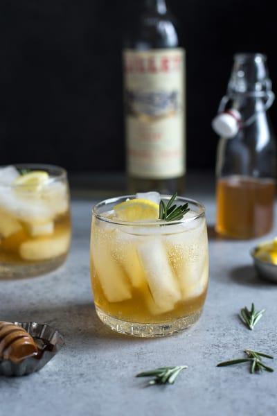 Lillet Spritzer with Honey and Rosemary Picture