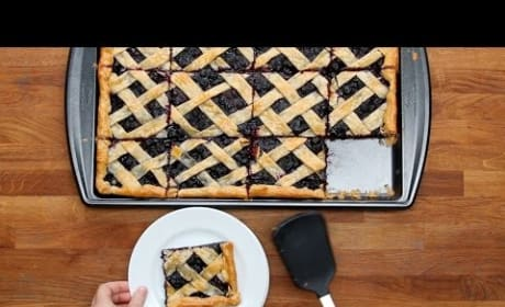 How to Bake a Blueberry Slab Pie