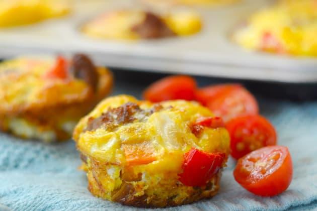 Gluten Free Sweet Potato & Sausage Egg Cups Photo