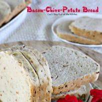 Bacon-Chive-Potato Bread