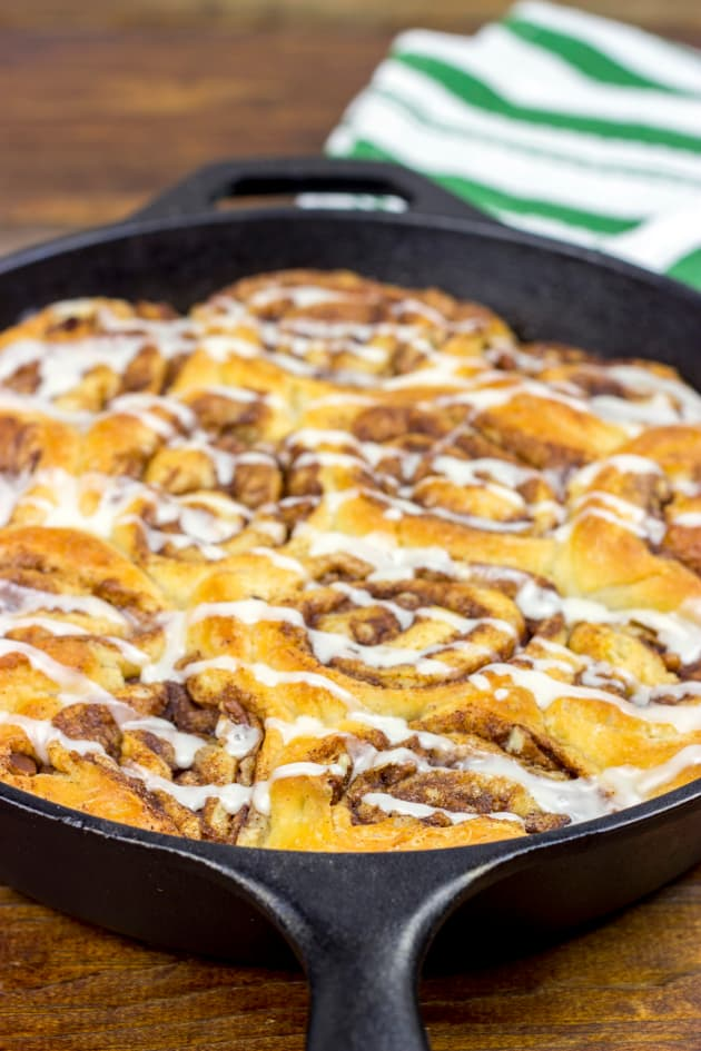 Skillet Cinnamon Rolls Picture