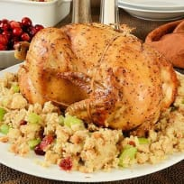 Roast Chicken With Dressing