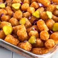 Cheeseburger Tater Tot Casserole Recipe