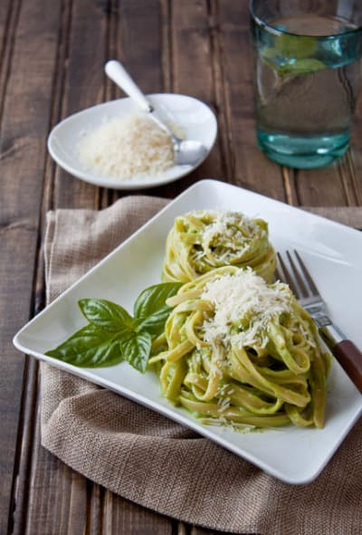 Avocado Pasta Picture