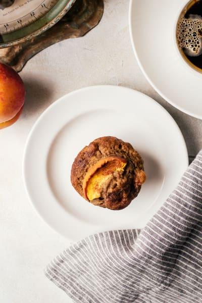 Peach Cinnamon Muffins Image