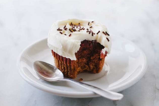 Vegan Red Velvet Cupcakes Photo