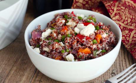 Roasted Vegetable Quinoa Salad Recipe