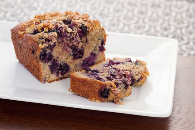 Healthy Blueberry Bread Photo