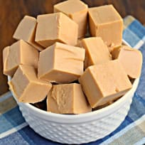 Maple Peanut Butter Fudge Recipe