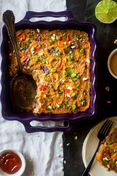 Thai Chicken Cauliflower Casserole Picture