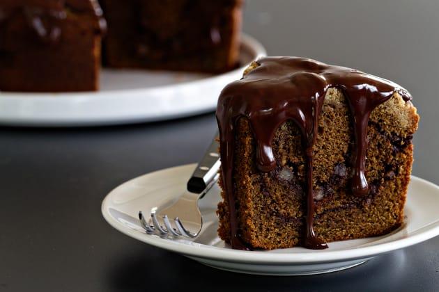 Mocha Coffee Cake Pic