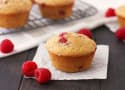 Raspberry Lemon Corn Muffins