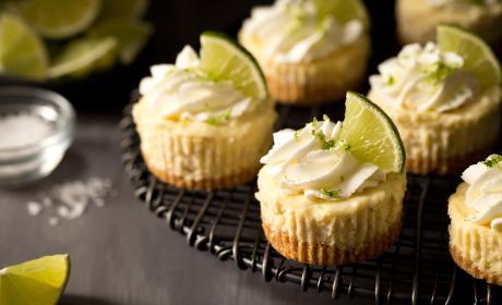 Mini Margarita Cheesecakes