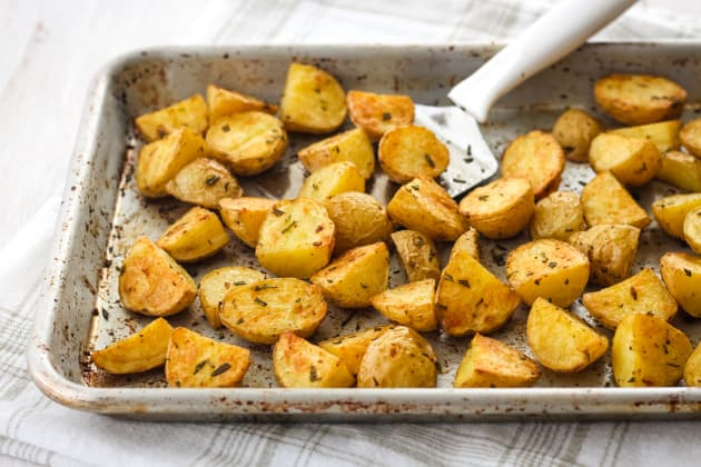 Toaster Oven Rosemary Potatoes Pic