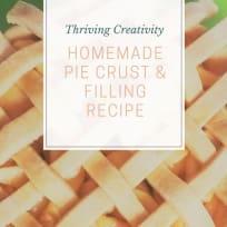 Homemade Pie Crust, Quick & Easy Recipe