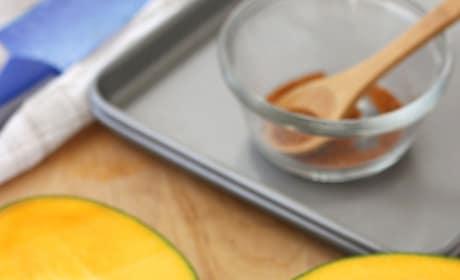 Broiled Mango with Greek Yogurt Picture