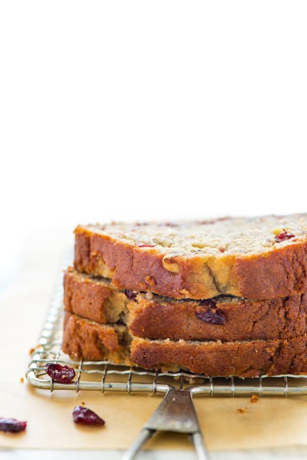 Gluten Free Cranberry Banana Bread Picture