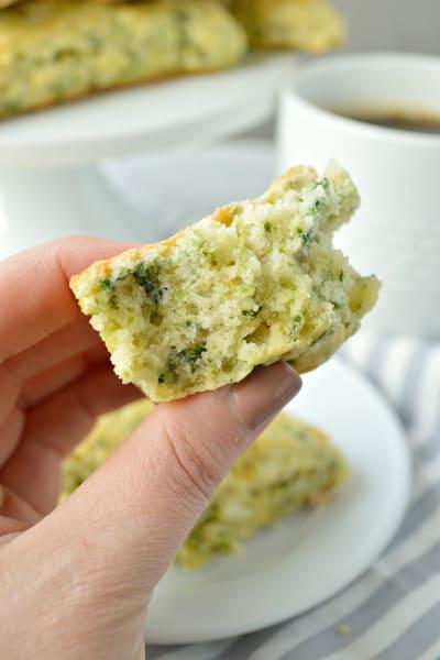 Spinach Feta Scones Pic