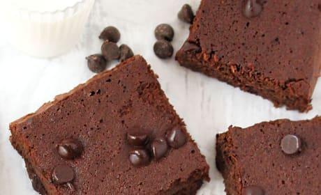 Gluten Free Double Chocolate Bars Pic