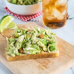 Avocado chicken salad photo