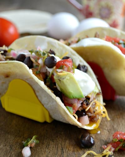 Sausage Breakfast Tacos Picture