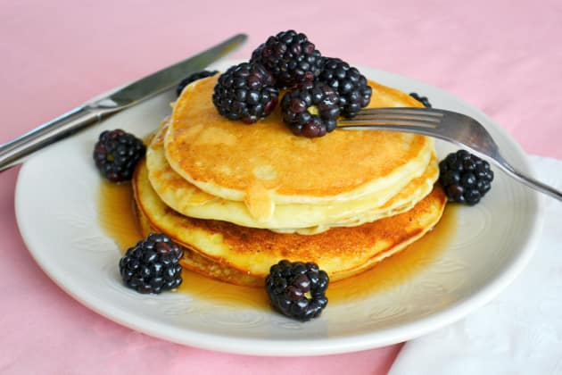 Lemon Ricotta Pancakes Image