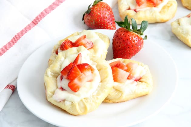 Strawberry Cream Cheese Danish Photo