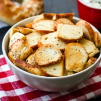 Toaster Oven Bagel Chips Recipe