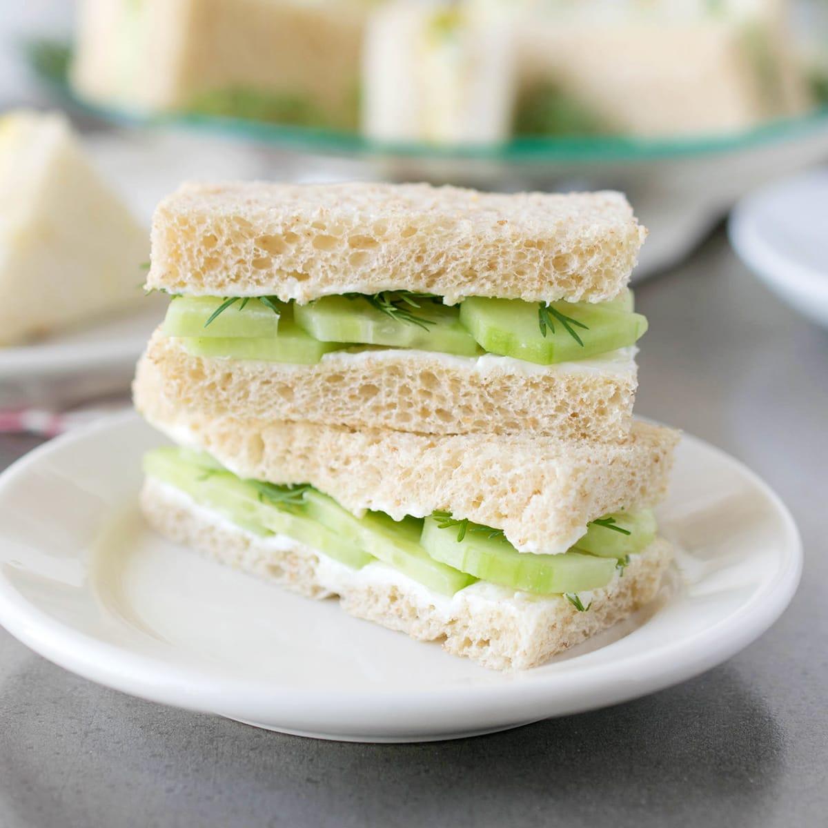 English Tea Sandwiches Recipe Food Fanatic