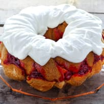 Cherry Cheesecake Monkey Bread Recipe