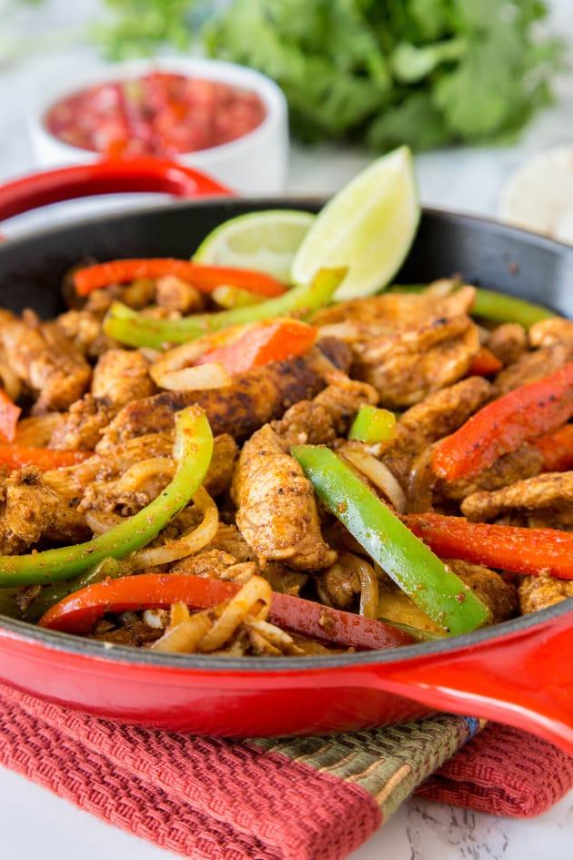 Easy Chicken Fajitas Picture