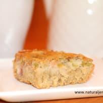 Gluten Free Rhubarb Snack Cake