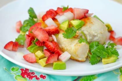 Strawberry Salsa Chicken