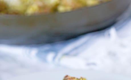 Pesto Pasta with Meatballs Image