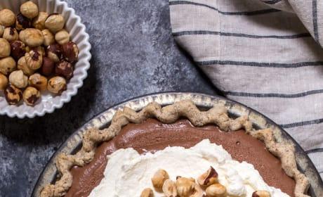 Boozy Chocolate Hazelnut Cream Pie Picture